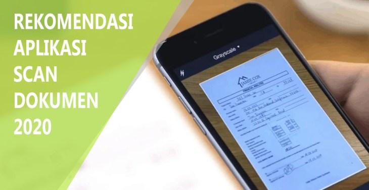 Aplikasi Scanner Dokumen Terbaik