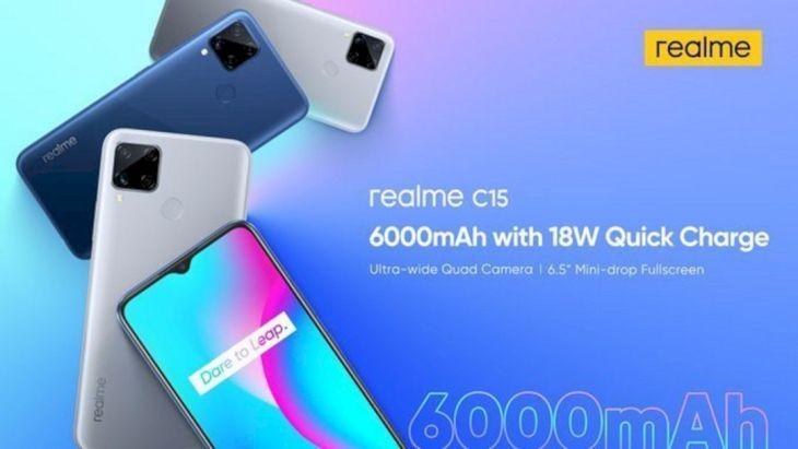 Realme C15 Resmi Meluncur