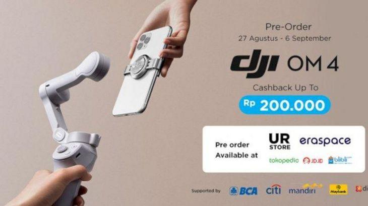 Pre Order Gimbal DJI OM4