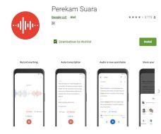 Google Rilis Aplikasi Perekam Suara Dengan Editor Berbasis Transkripsi