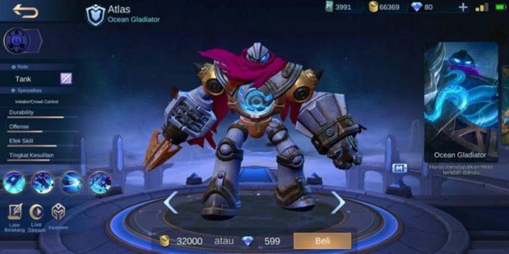 Hero Atlas Mobile Legends