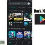 Dark Mode Google Play Store