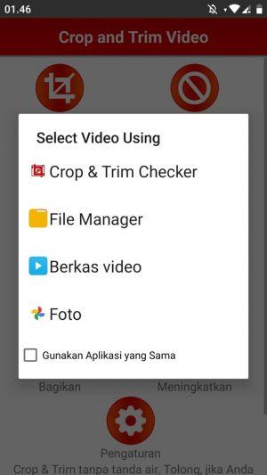 Pilih Lokasi File Video