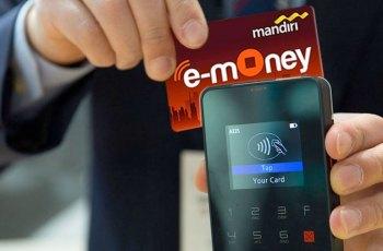 Kartu E Money Bank Mandiri X Shopee