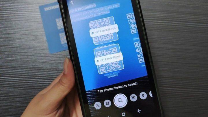 Cara Membaca QR Kode dengan Kamera Ponsel