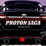 Rekaan Belakang Proton Saga Baharu Yang Memberahikan Oleh Ajerul Antoine