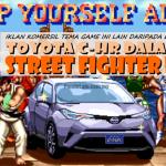 Toyota C-HR Tolong Ryu Lawan M Bison dalam Street Fighter II