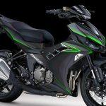 moped kawasaki 175cc