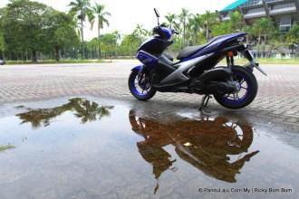 Tunggang Uji Yamaha NVX 155 Malaysia_PanduLaju (8)