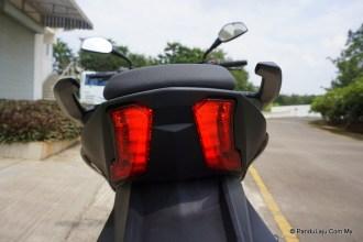 lampu belakang modenas dominar 400