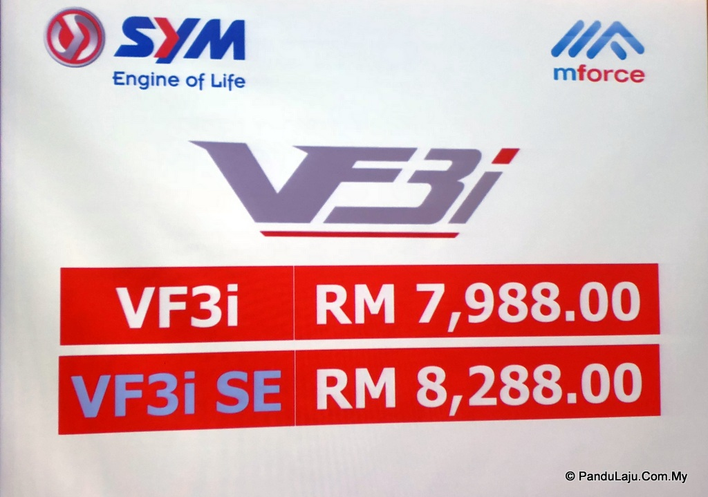 Harga SYM Super Moped VF3i