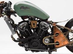 BikinMotor Indian Motorcycle Chopper Hardtail1
