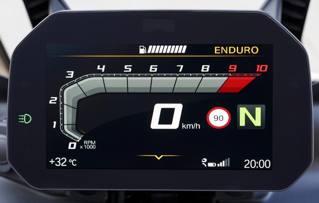 meter BMW F 850 GS (2019)
