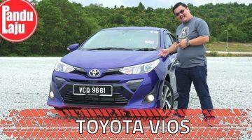 Pandu Uji Toyota Vios 2019