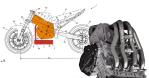 Suzuki Patenkan Enjin USD @ Terbalik, Swingarm Panjang dan Motor Jadi Lebih Stabil?
