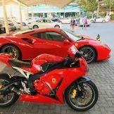 Motor Ferrari Honda