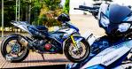 #BikinMotor: Yamaha Exciter 150 dengan Swingarm Sebelah, Rim Sport Ninja H2