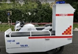 Hero Xtreme 200R Ambulans_3