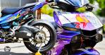 #BikinMotor: Yamaha Exciter 150 Gaya R1 dengan Swingarm Ducati 1199 Panigale