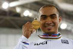 Cycling - UCI Track World Championships - Men's Keirin, Final