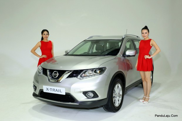 The All-New Nissan X-Trail w Model
