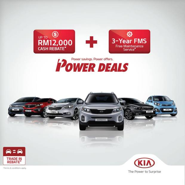 Naza Kia Malaysia Offers Power Deals Promotion - Picture