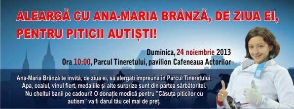 Ana-Maria Branza - alearga de ziua ta