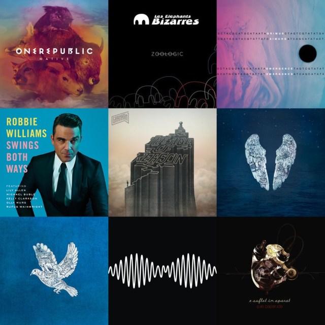 2014 in muzica - albume