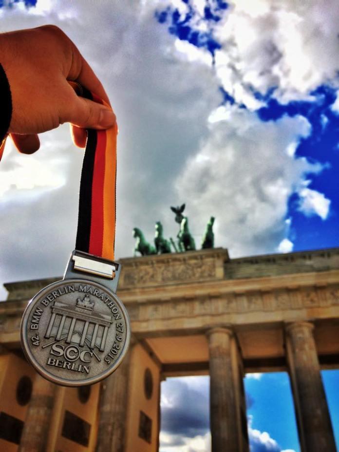 Berlin Marathon 2015 - medal