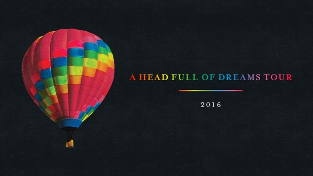 Coldplay - AHFOA Tour 2016