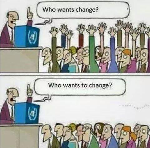 cine vrea schimbare