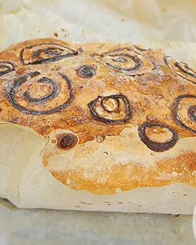 Pane senza glutine alla cipolla