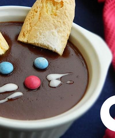 Budino al cioccolato senza glutine