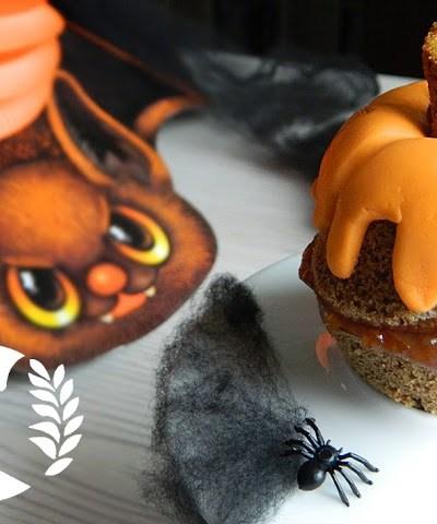 Muffin di halloween con marmellata