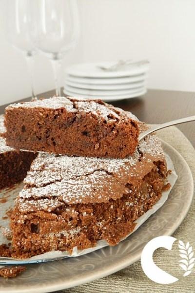 Torta cioccolatino, senza glutine