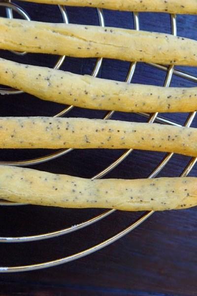 Grissini senza glutine ai semi di papavero
