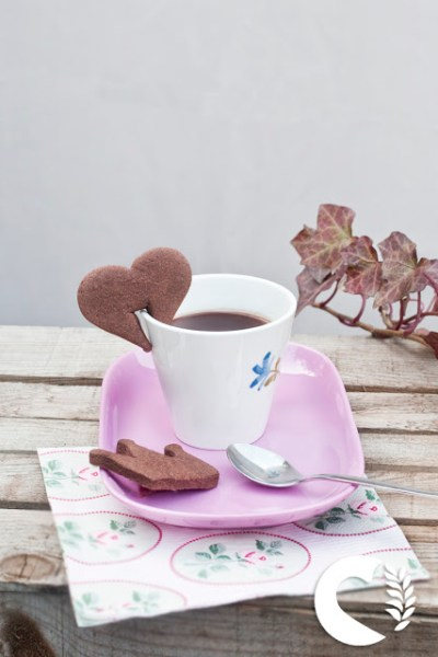 Biscotti di frolla al cioccolato senza glutine