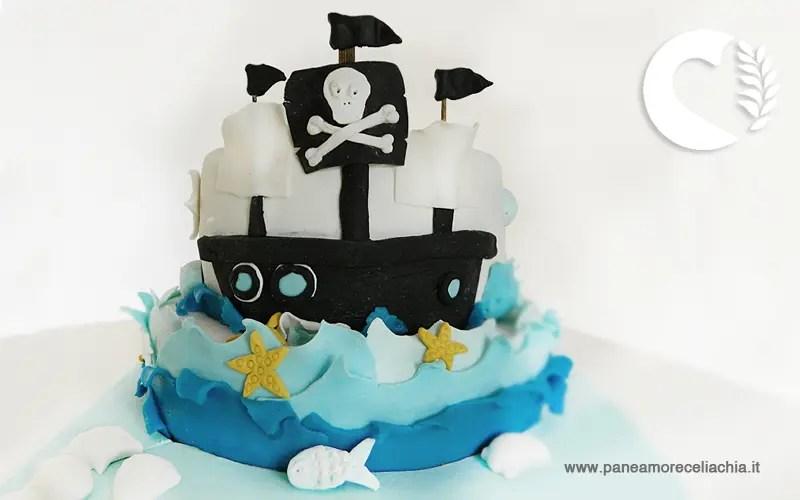 torta pirati senza glutinesl