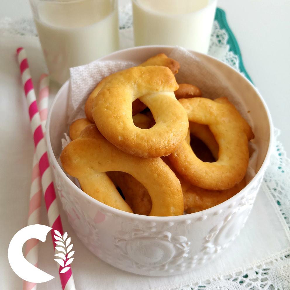 Taralli dolci senza glutine