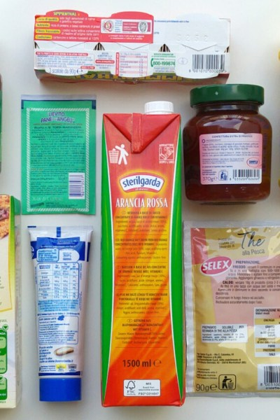 Etichette ed allergeni
