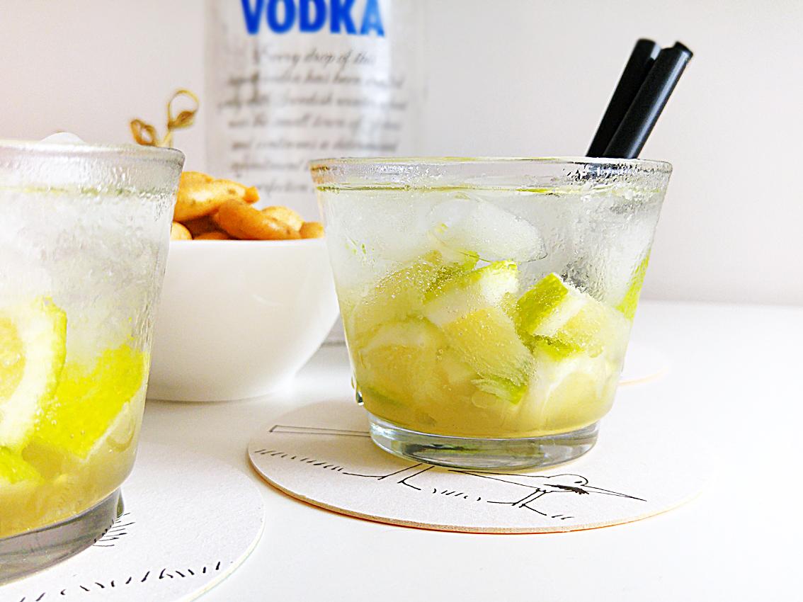 Caipiroska al lime