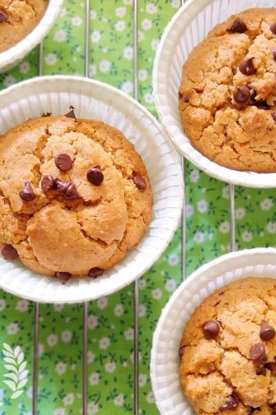 Muffin senza glutine al grano saraceno e biscotti