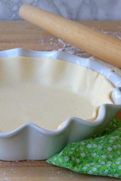 Pasta briseè senza glutine e senza lattosio