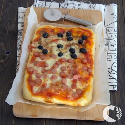Pizza senza glutine facilissima, impastata con la spatola
