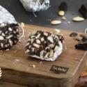 Salame al cioccolato senza glutine e senza uova