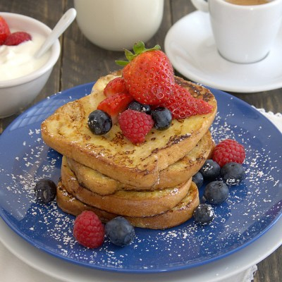 French toast senza glutine