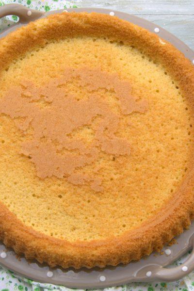 Base crostata morbida senza glutine e senza lattosio