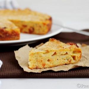Torta salata di zucca e toma piemontese