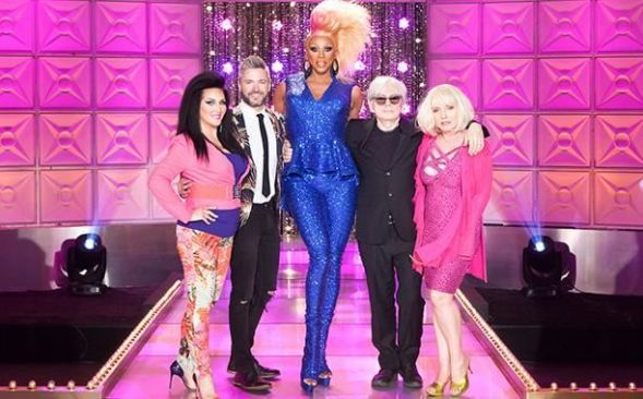 rupaul and blondie