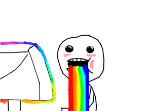 vomitando-arco-iris